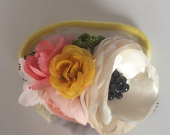 Floral headband M2M Flowermill dresses; flower headband; baby headbands