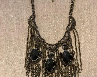 Intricate filigree necklace