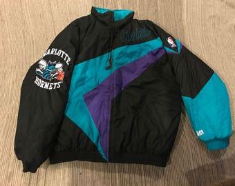 Vintage 90s Charlotte Hornets Jacket