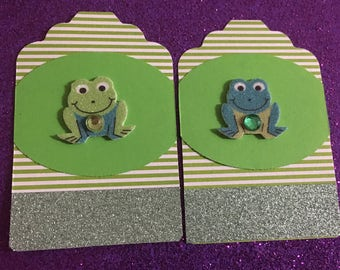 Frog Gift Tag
