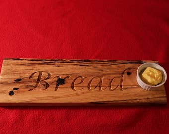Exoctic wood bread board / cutting board