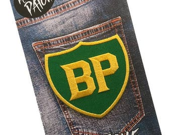 BP Embroidered Iron On Patch