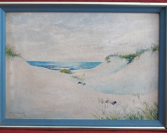 Vintage Wendell F. Collum Cape Cod Oil Painting