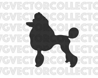 Poodle Dog, SVG EPS Png DFX, Clip Art, Instant Digital Download