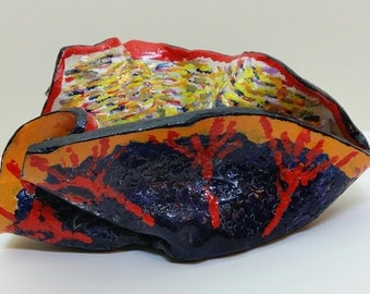 art, sculpture, clay,pottery,ceramic, paper weight,