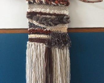 """Wall weaving """"Softness of autumn"""""""