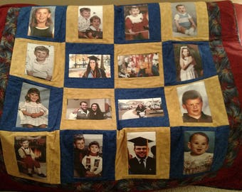 Custom Photo Quilts