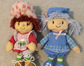 Strawberry shortcake plush dolls