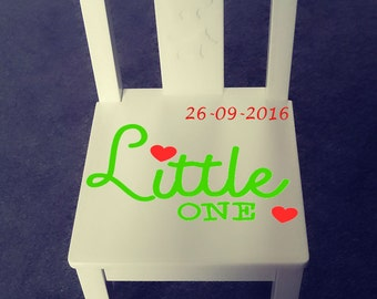 Personalized kids chair - Little one