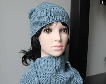 Ladies shawl and hat