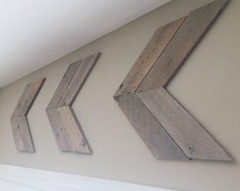 Wooden Arrows - Rustic Arrows - Wooden Arrow Wall Art - Home Decor