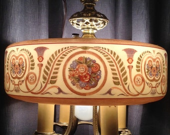 Beautiful Antique Lightolier - Dinerlite - Rewired 5-light - Art Deco