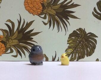 Vintage Hagen Renaker tiny birds