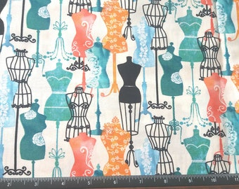 Dress Forms fabric