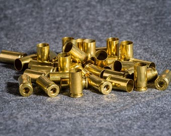 9mm (1200) Cleaned and processed brass casings for reloading, Art projects, crafts, jewelry or any other uses
