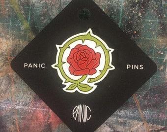 Panic Pins – Rose & Thorn