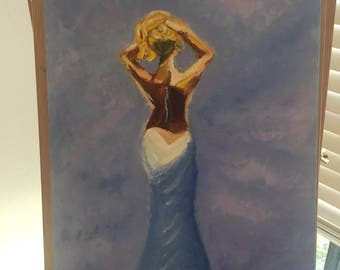 Oil Painting, The Essence of a Woman