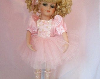 French Ballerina Doll