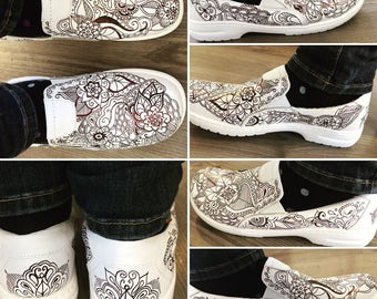 Custom designed shoes- Please contact me for ordering at eyedaydream.kc@gmail.com. Put Shoe Order in the memo line.
