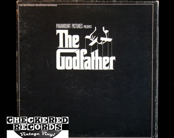 Vintage Nino Rota The Godfather Soundtrack NM- Vintage Vinyl LP Record Album
