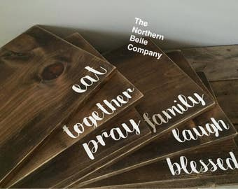 Wooden Placemats or Trivets (Set of 4)