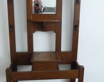 Vintage Edwardian coat stand