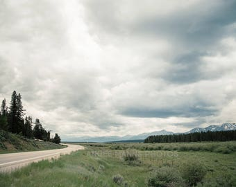 Mountain Photo, Landscape Photo, Clouds, Rocky Mountains