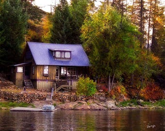 Old Cabin On The Lake