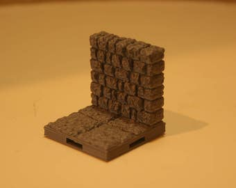 3D Dungeon Tiles - Wall v.1 Tile