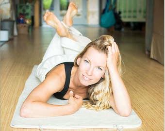 "100% Hemp Yoga Mat (Double Layer) (24"" X 72"") (PVC-Free)"
