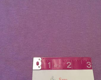 Lavender Jersey Knit Fabric | Stretchy Fabric | Purple Knit Fabric | S&H INCLD
