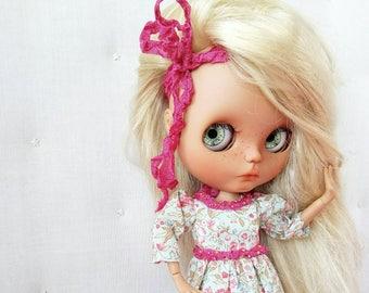 Blythe dress | Blythe clothes | Blythe outfit | Blythe set | Custom Blythe | pullip | icy doll | Blythe accessories | Blythe drawers | socks