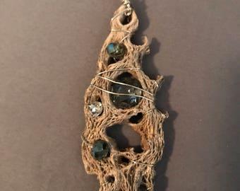 Unique and interesting, but beautiful pendant