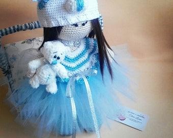 Crochet Doll Amigurumi Tilda