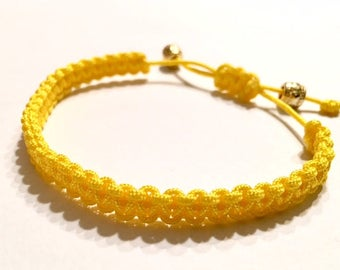 Yellow Adjustable Bracelet