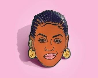 Beyonce Enamel Pin
