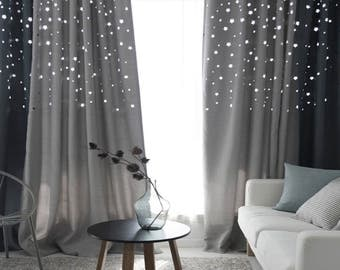 Galaxy Stars Curtain - 1 Piece