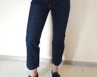 Vintage levis 501, levis 501 27, levis jeans dark blue, vintage levis, vintage levis Ankle Length, vintage levis jeans