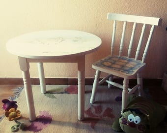 Set table and Chair child