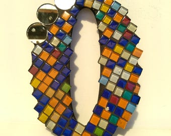 Mosaic House Number  0
