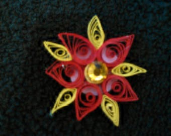 Hand Quilled Brooch - Joanne