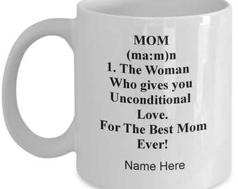 Mug for mom - mothers day mug - special mom mug