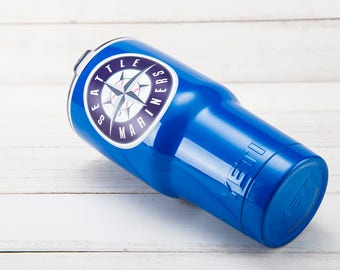 Seattle Mariners YETI Cup Seattle Mariners Cup Seattle Mariners Birthday Seattle Mariners Gift Seattle Mariners Party
