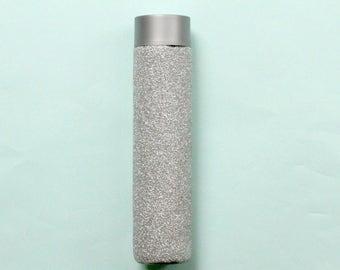 Glitter Glass Water Bottle
