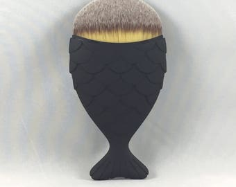 FREE Shipping to USA - Mermaid Makeup Brush - Matte Black