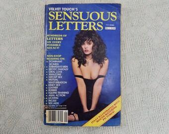 Velvet Touch's Sensuous Letters Magazine No. 1