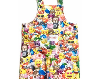 Emoji overall, emoji, romper, baby girl clothes, baby romper, jumper, Baby Bodysuit, overall, Birthday Outfit, Baby Romper, baby boy clothes