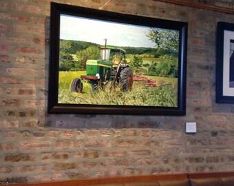 Rented Field- original painting