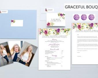 Custom Sorority Packet - Graceful Bouqet
