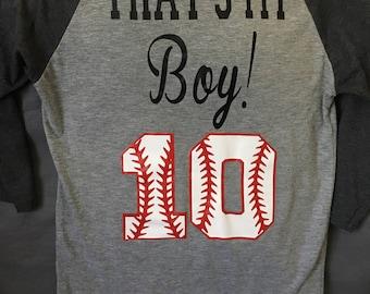 That's My Boy Baseball Shirt